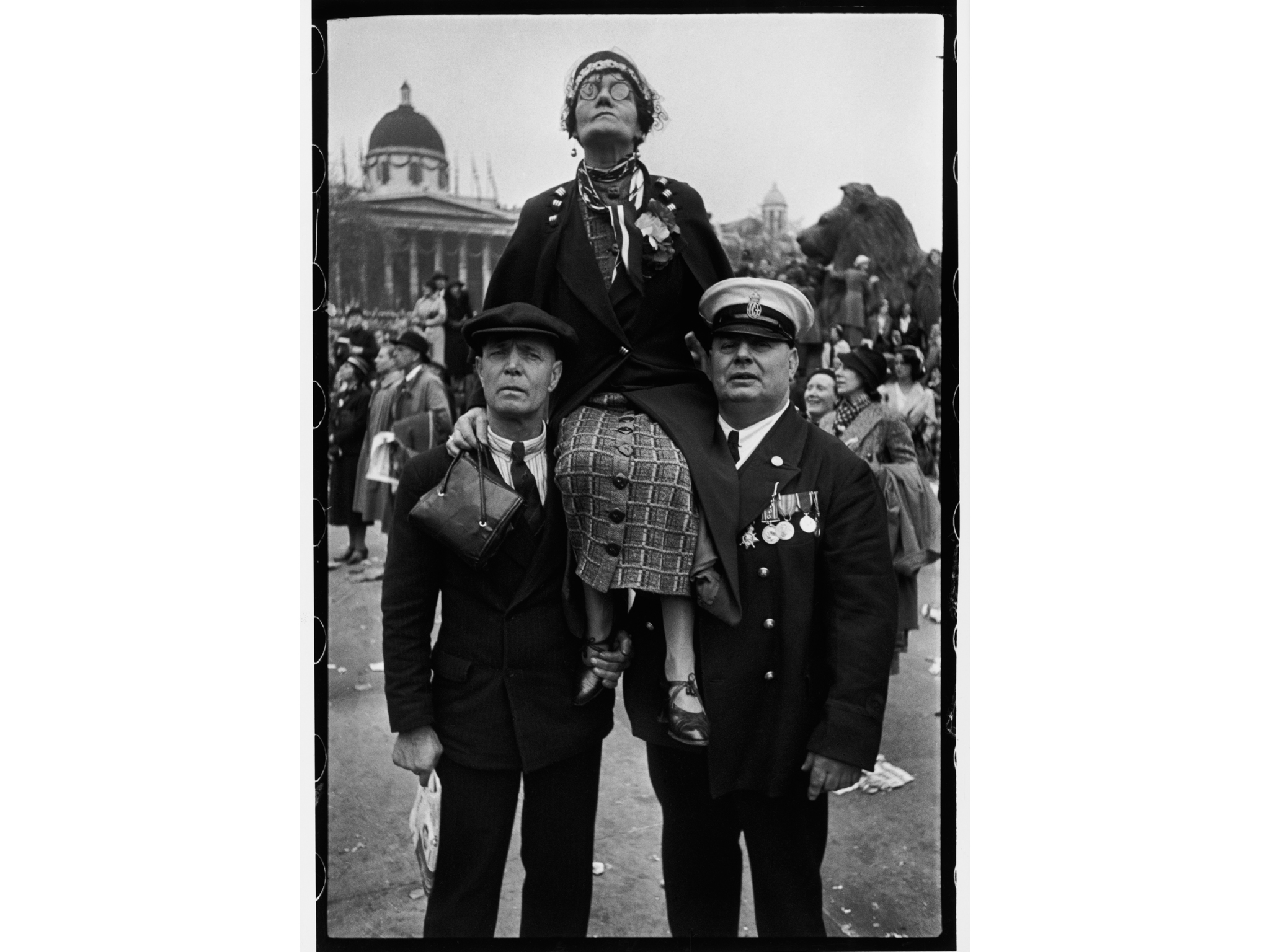 Best London photos: Henri Cartier-Bresson: 'Coronation of King George VI, Trafalgar Square, London, 12 May, 1937