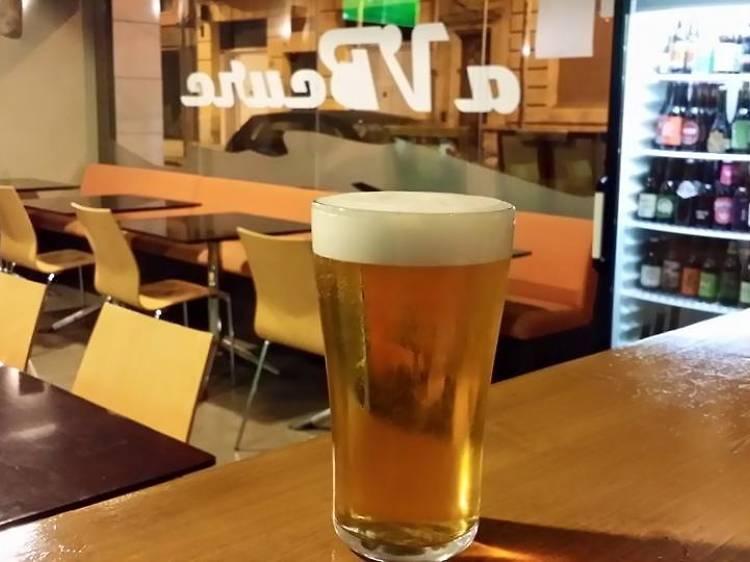Una cervesa artesana a la cerveteca AVBeure