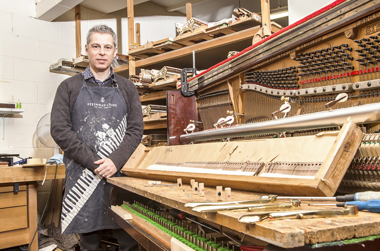 Quit your job, become a... piano tuner