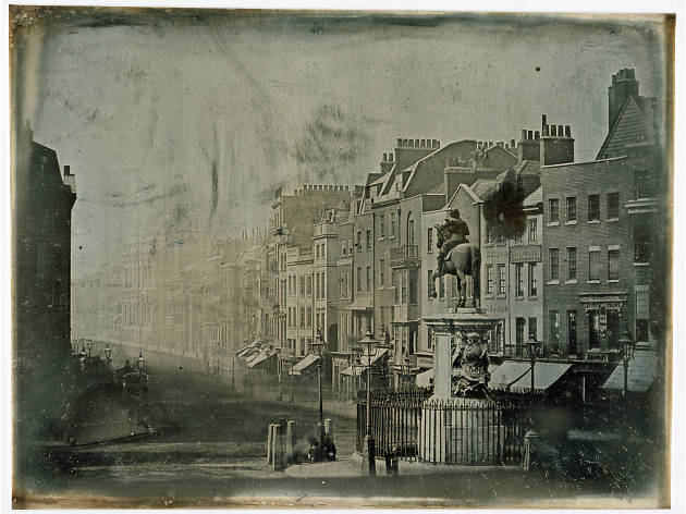 PARLIAMENT STREET FROM TRAFALGAR SQUARE, 1839, WHICH WE ARE GETTING FROM THE V&A