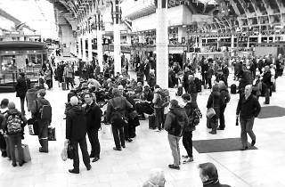 Paddington station concourse