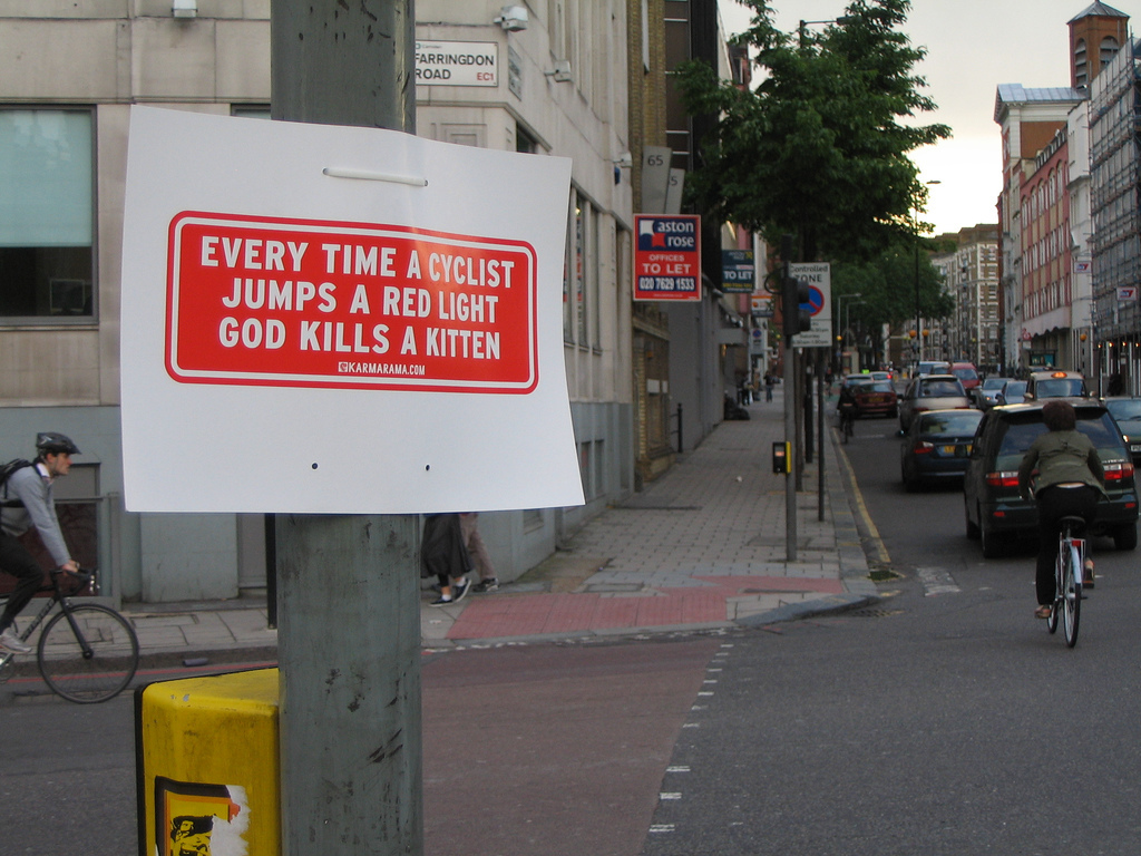 Eight questions you should never ask a London cyclist