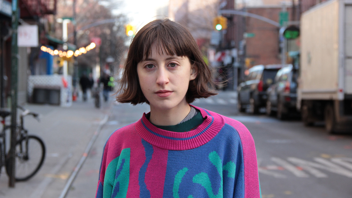 If you want to hear a new spin on an old classic: Frankie Cosmos