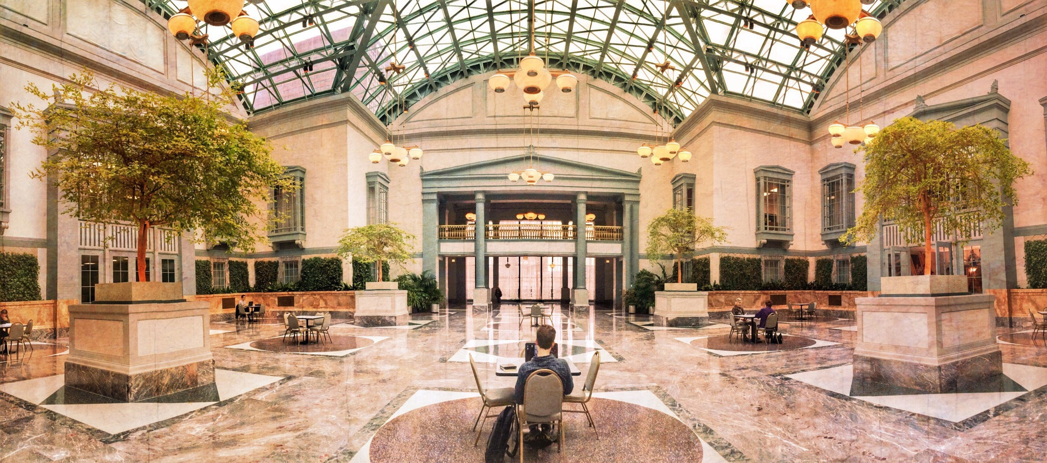 Harold Washington Library Winter Garden Interior Design