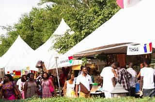 """FESTIVAL DE LA FRANCOPHONIE """"KERMESSE"""" , Alliance Français, Accra, Ghana"""