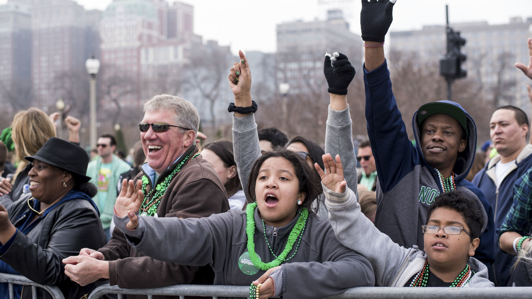 St. Patrick's Day River Dye & Parade, March 12, 2016
