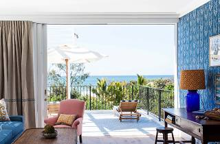 A room with an ocean view at Halcyon House, Cabarita Beach NSW