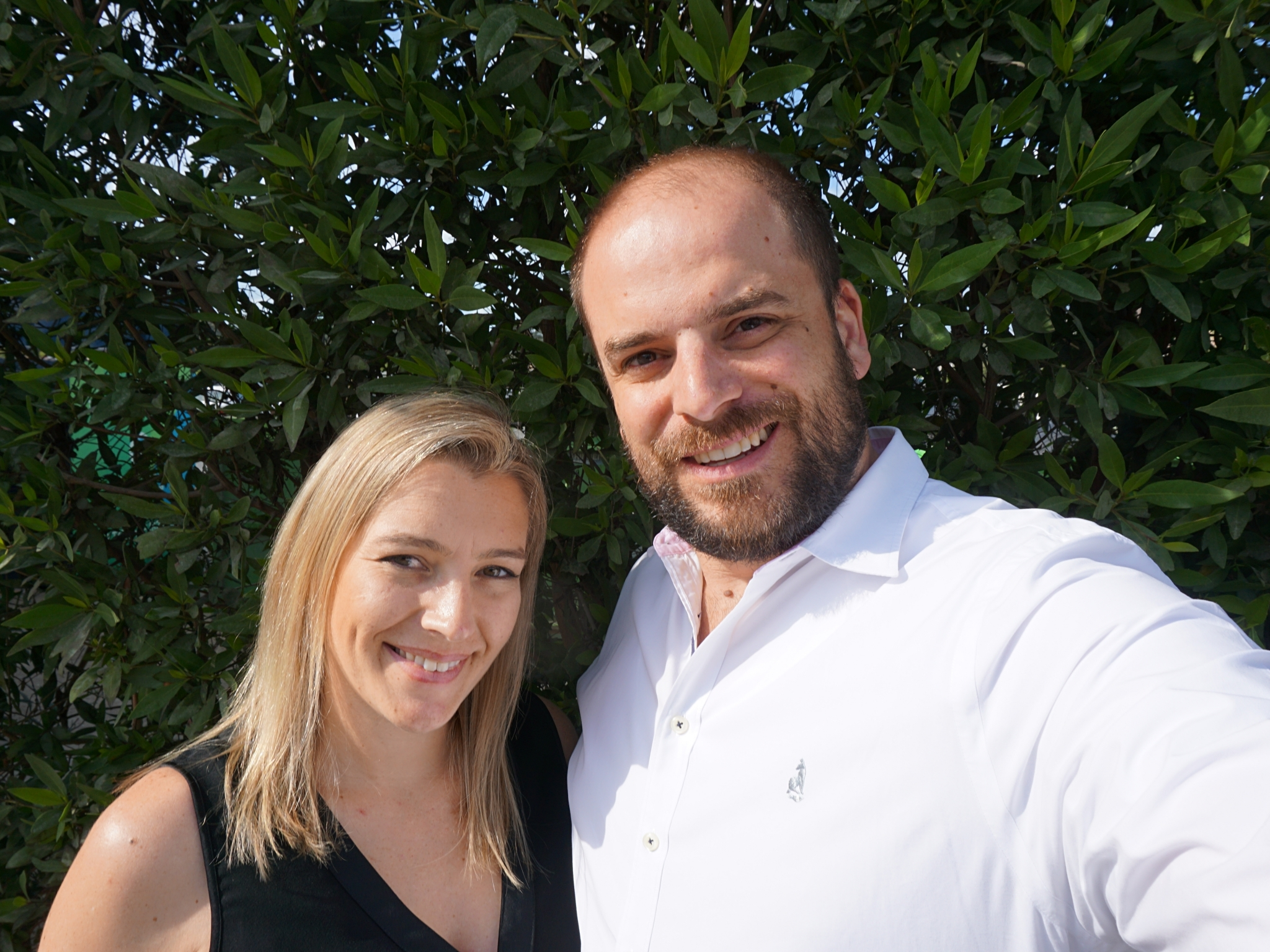 Michael and Jessica Noble, Aussie expats in Dubai