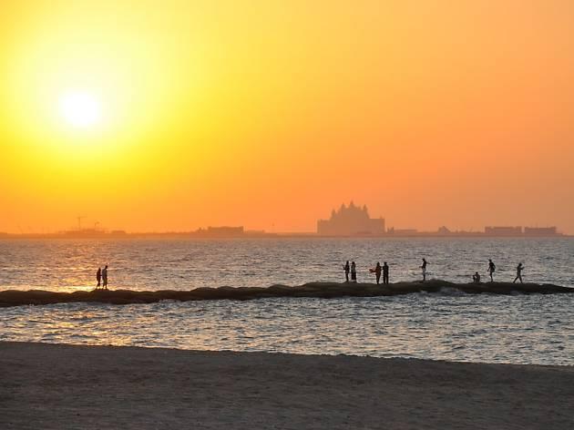 Al Mamzar Open Beach Dubai