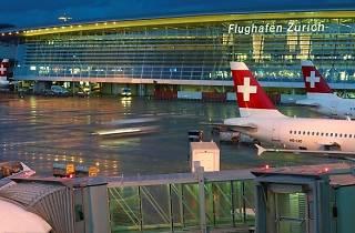 Swiss Air, Zurich Airport