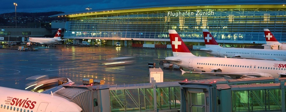 Swiss Air, Zurich Airport