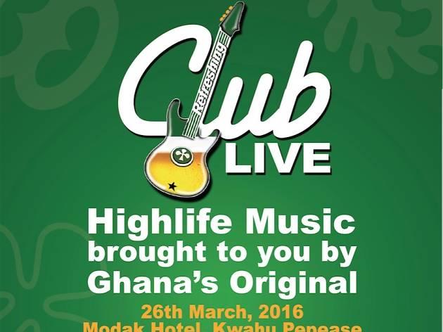 Club live, Modak Hotel, Pepease, Ghana