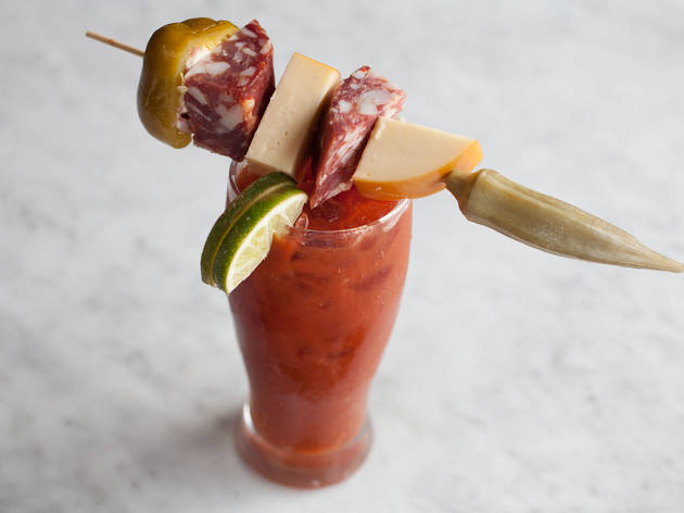 Bloody Mary at Old Town Social
