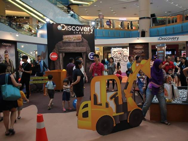 Sunway Pyramid school holiday games and challenges
