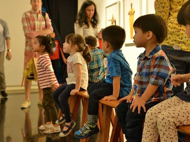 Ilham Gallery Art Discovery tours for kids