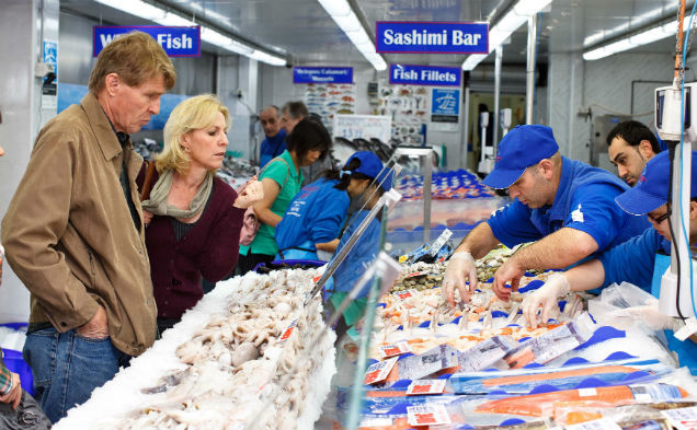 Easter trading hours at sydney fish market things to do for Fish market hours