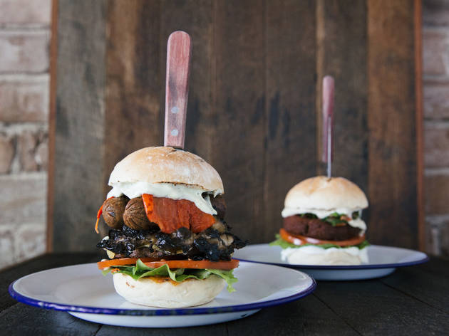 There's a brand new vegan burger joint in Glebe