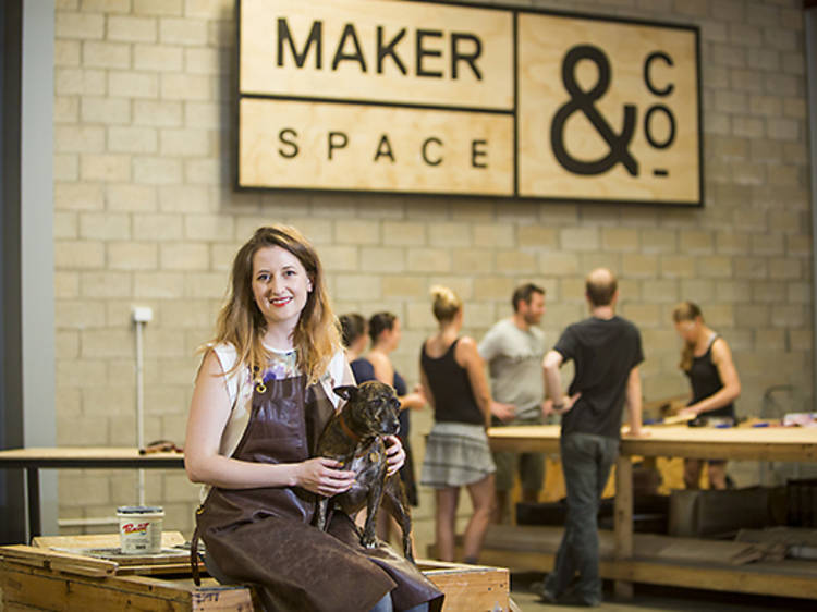 Learn a new skill at MakerSpace &Company