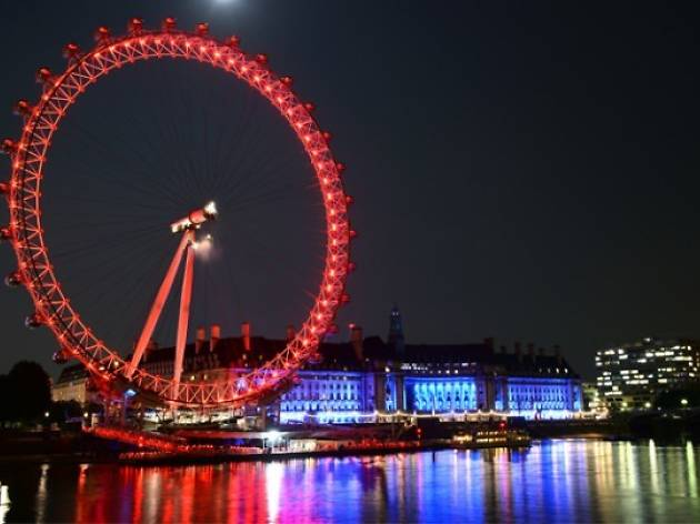Valentine's Day at the London Eye