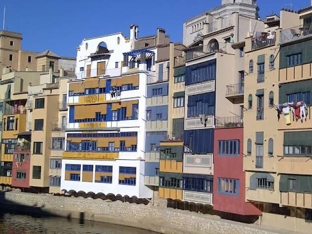 Orienteering circuit around Girona's Barri Vell