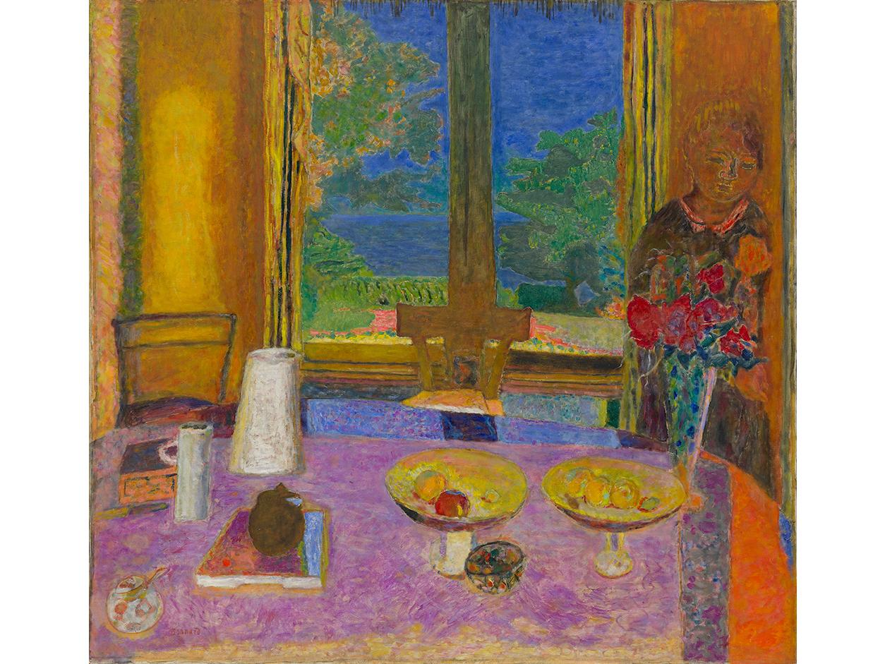 Pierre Bonnard, Dining Room on the Garden (Grande salle à manger sur le jardin), 1934–35