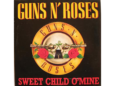 """Sweet Child o ' Mine"" by Guns N' Roses"