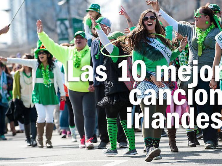 Las 10 mejores canciones irlandesas