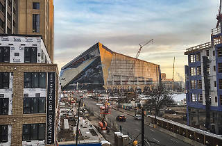 Minnesota Vikings' new football stadium is on a street named after Chicago
