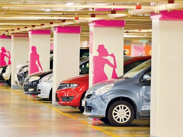 Malls with the best ladies' parking
