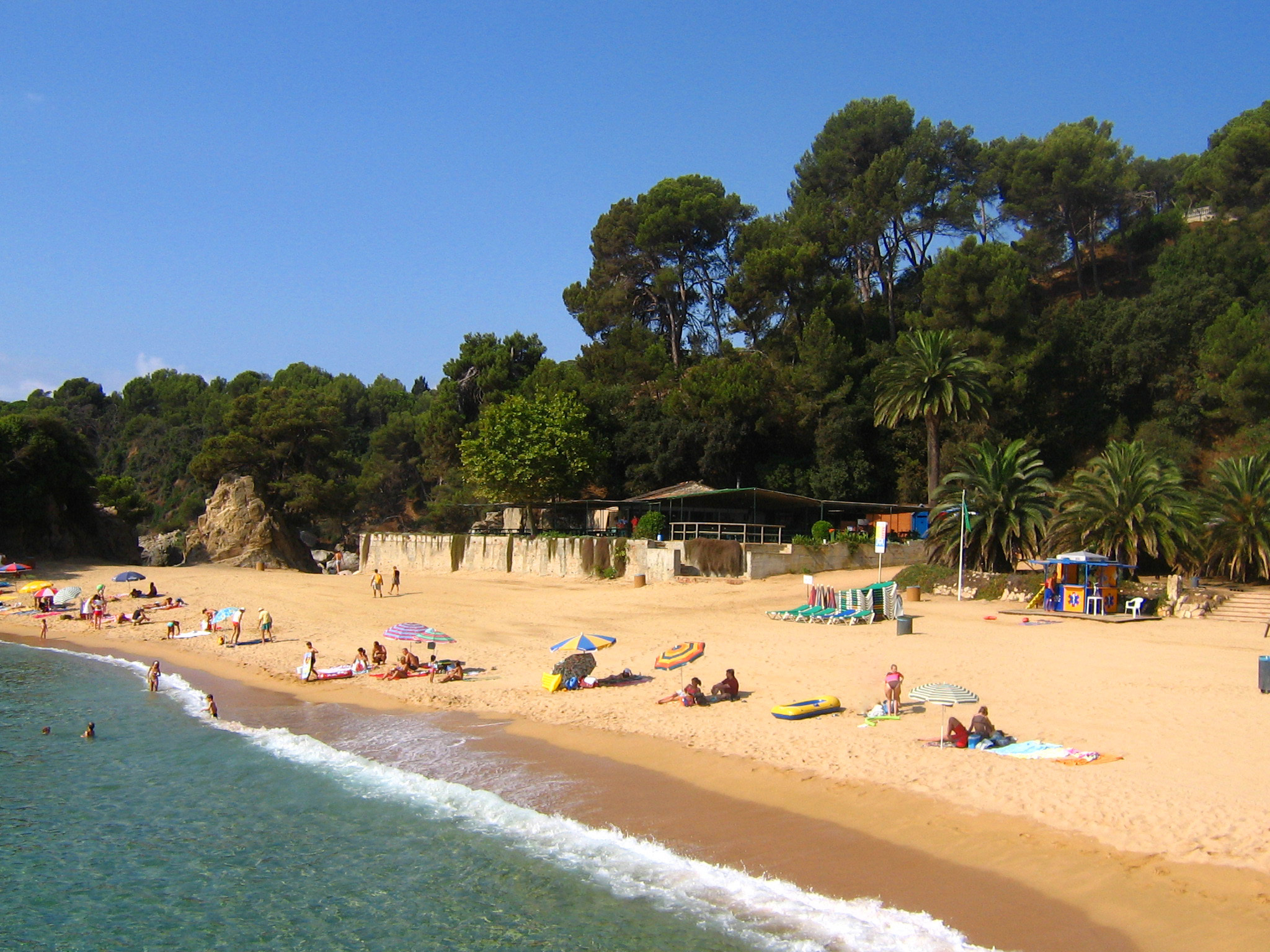 6 beaches in the Girona region to go with children