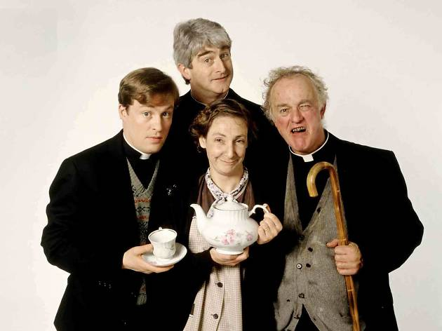 50 best TV series to stream online now - 'Father Ted'