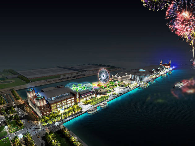 Navy Pier Renderings