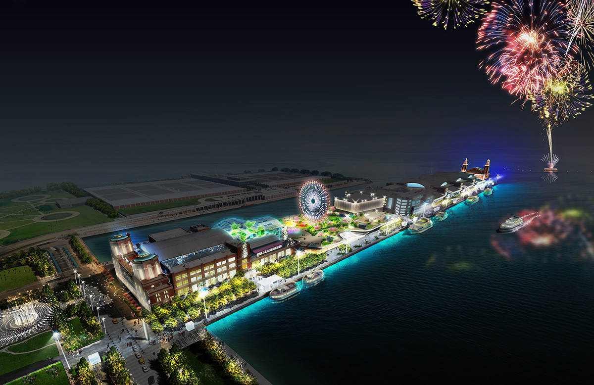 This summer, Navy Pier could actually be...cool?