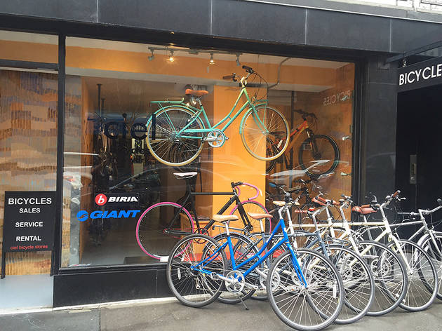 Find the best bike shop in NYC for bicycles and bike gear
