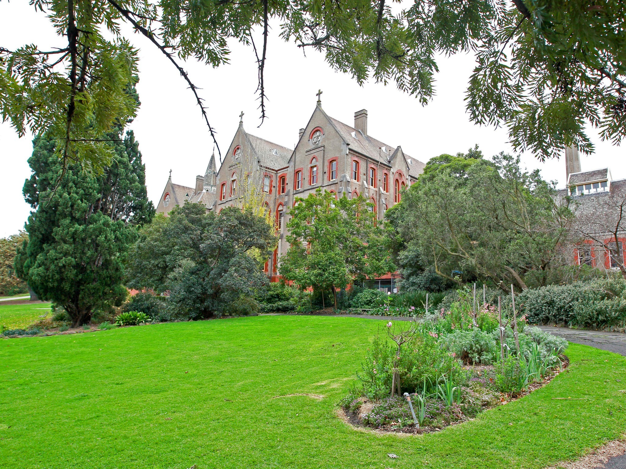 The Abbotsford Convent and Gardens by day
