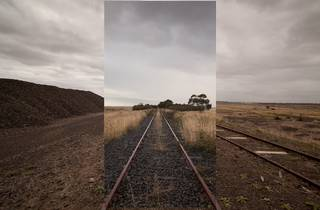 A promo still for Daniel Crooks: Phantom Ride exhibition at ACMI
