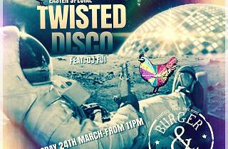Twisted disco Easter special,Burger & Relish, Accra, Ghana