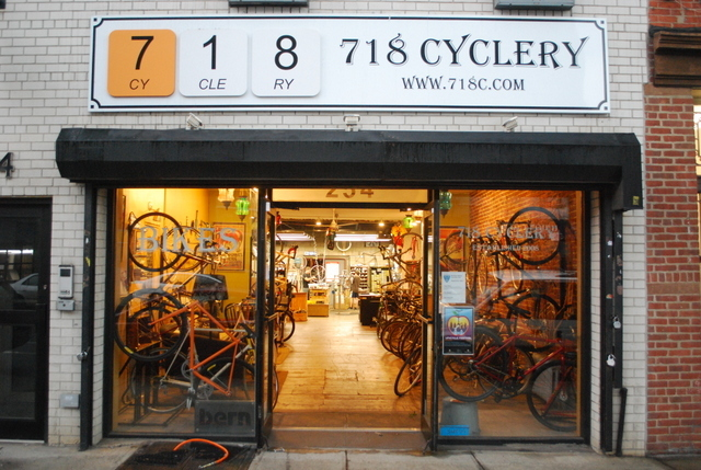 718 Cyclery bike shop