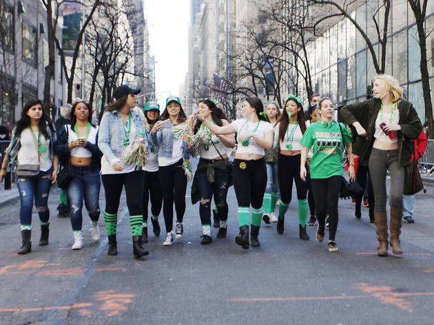 St. Patrick's Day in NYC