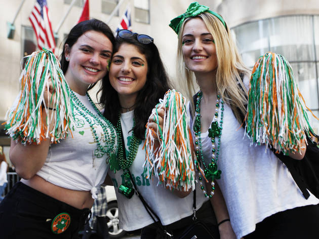 See photos from the 2016 St. Patrick's Day festivities in NYC