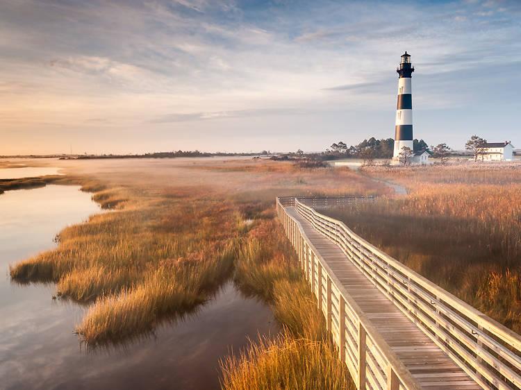 North Carolina: Stroll through Cape Hatteras National Seashore