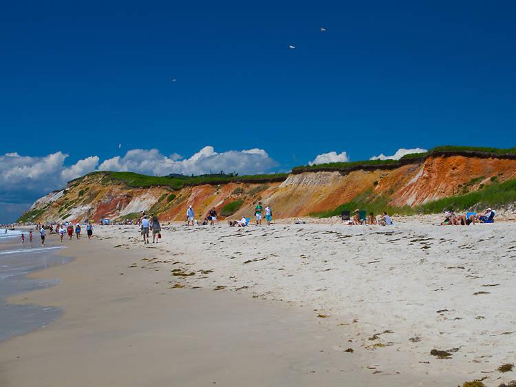 Massachusetts: Bask in the sands of Moshup Beach on Martha's Vineyard