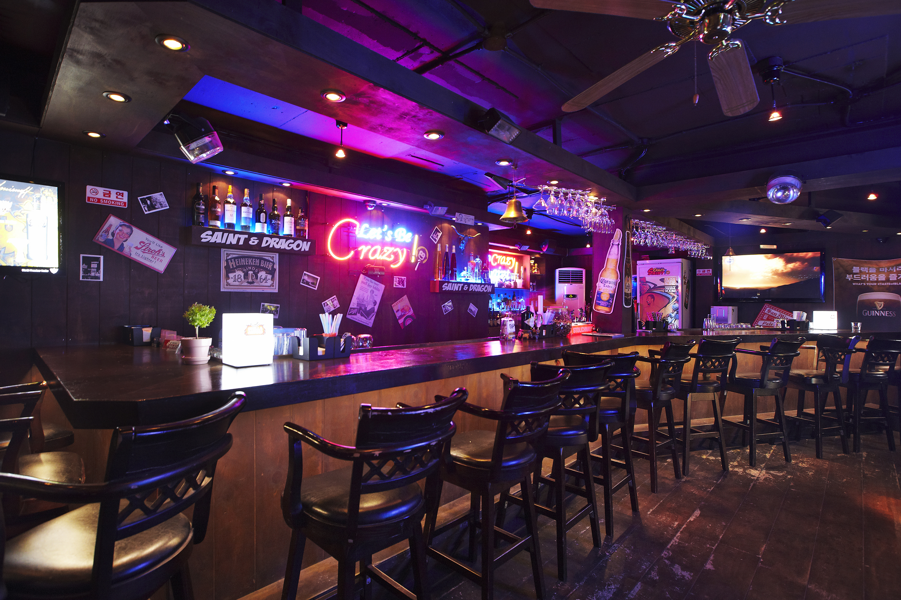 crazy saint bar bars in mapogu seoul