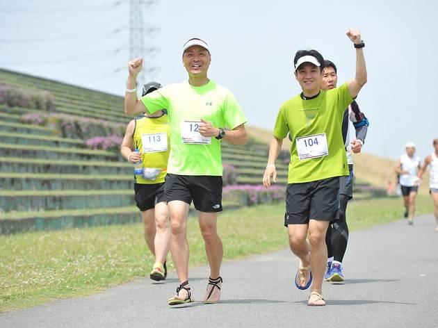 第3回ワラーチ6時間耐久リレーマラソン