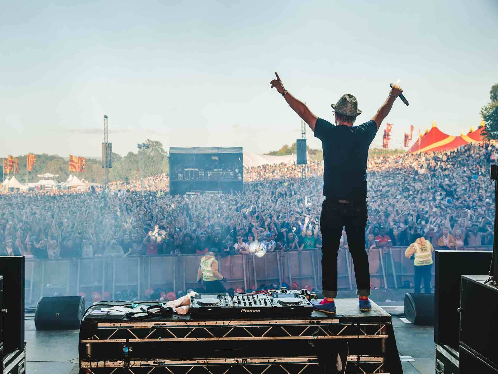 David Rodigan at Parklife Festival Manchester 2015