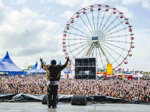 Wu-Tang Clan at Parklife Festival Manchester 2015