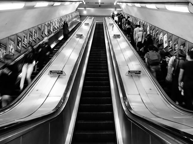London escalators