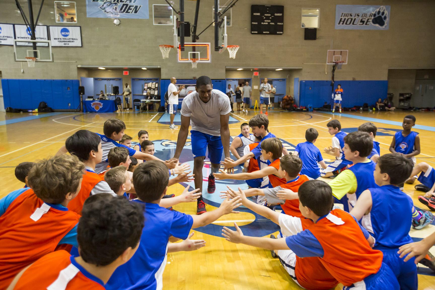 New York Knicks Summer Basketball Camp