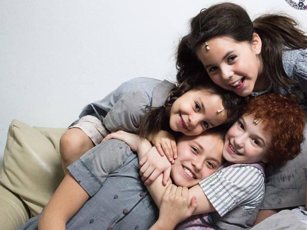 El elenco de Annie