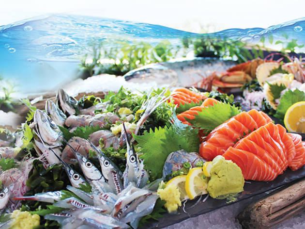 Swez Brasserie seafood dinner buffet